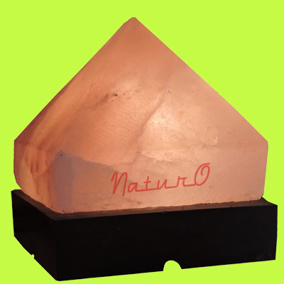 Naturo Rocksalt Pyramid Lamp