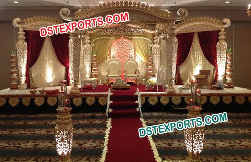 Decorative Wedding Mandaps