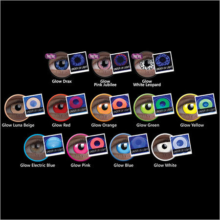 Glow Contact Lenses