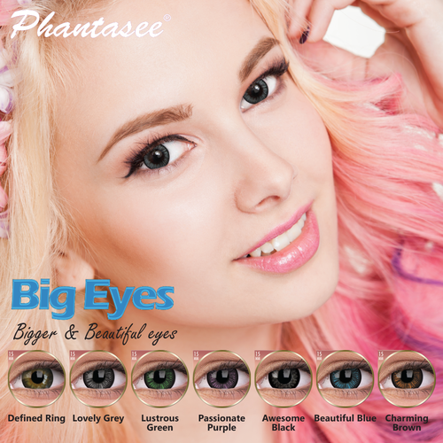 Enlarging - Big Eyes Contact Lenses