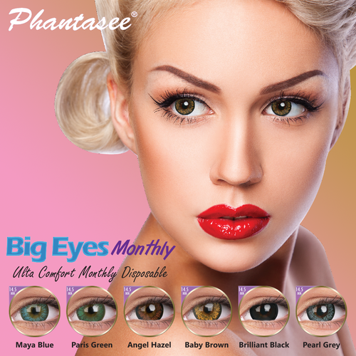 Phantasee Big Eyes Monthly Contact Lens
