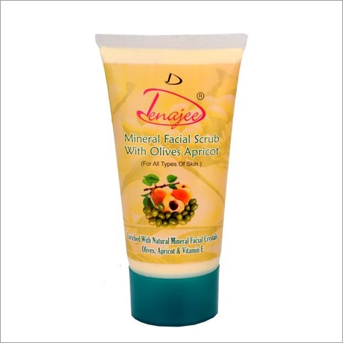 Mineral Scrub With Olives Apricot