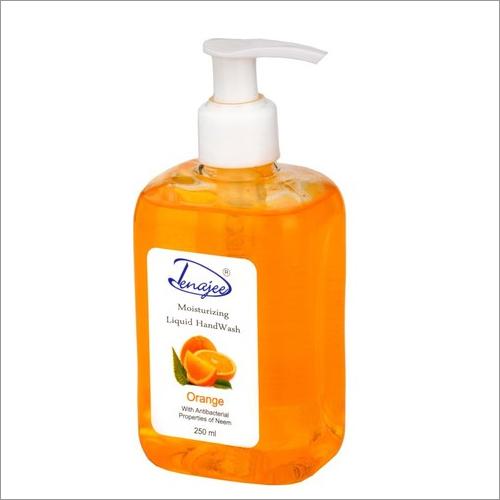 Orange Liquid Hand Wash Certifications: Iso 9001 & G.M.P Certified Product