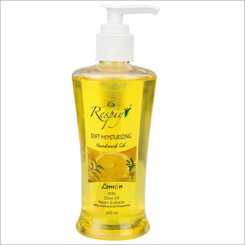 Lemon Hand Wash Gel