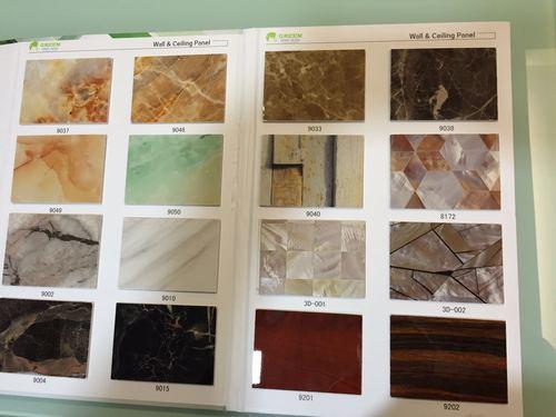 Artificial PVC Marble Tiles
