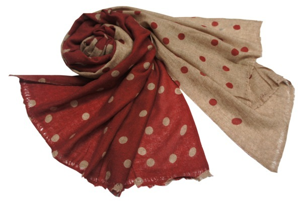 Cashmere Pashmina shawls with print
