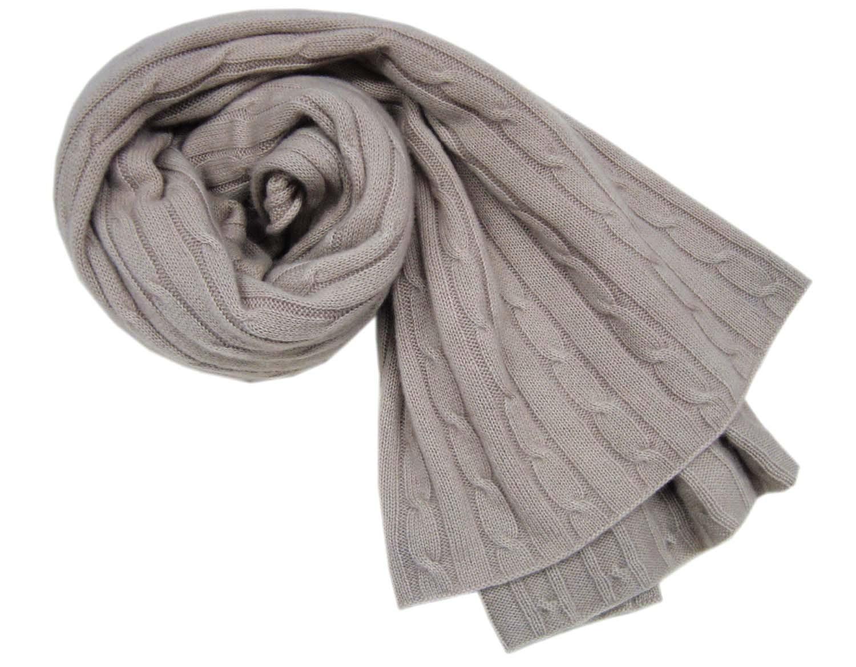 Grey Knit Shawl