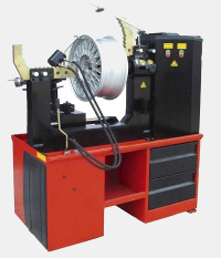 Alloy & Steel Wheel Rim Straightning Machines