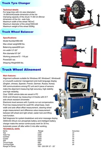 Truck &  Bus Service Equipments
