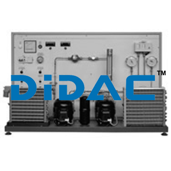 Double Compressor Air Conditioning Cycle Training Bench