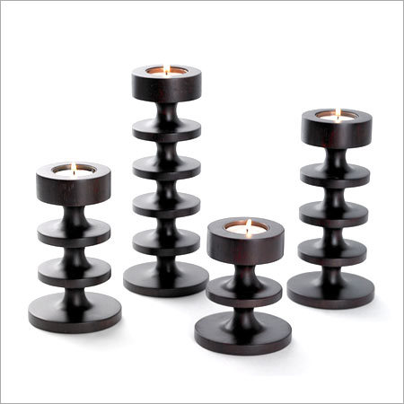 Wooden Tea Lights