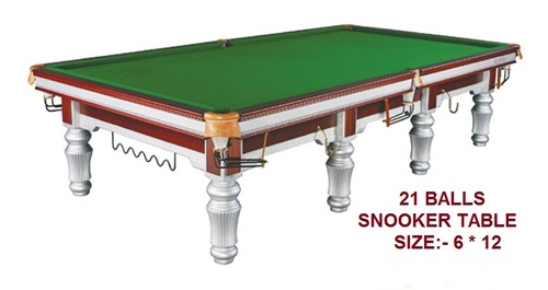 6 Legs Imported Snooker Table