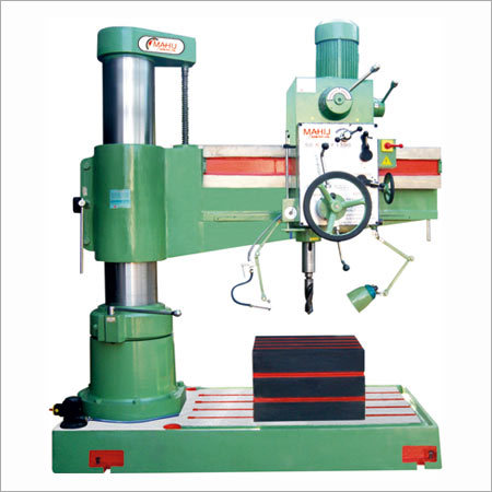 50mm Heavy Duty All Geared Radial Drill Machine