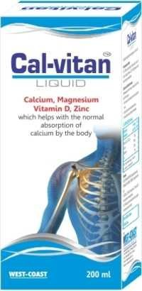 Synergistic Liquid Calcium With Magnesium,Zinc & Vit-D3