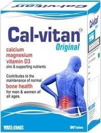 Calcium Magnesium Vitamin D3  Zinc & Supporting Nutrients Tablets