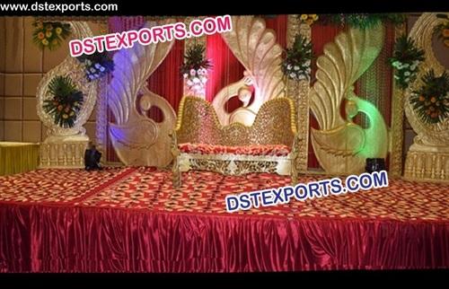 Peacock Theem Backdrop Panels