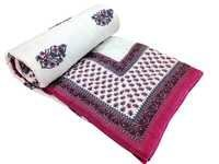 Ethnic Double Bed Quilt