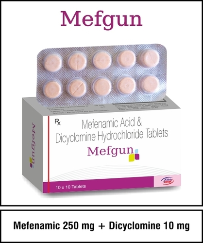 Mefenamic 250 + Dicyclomine 10