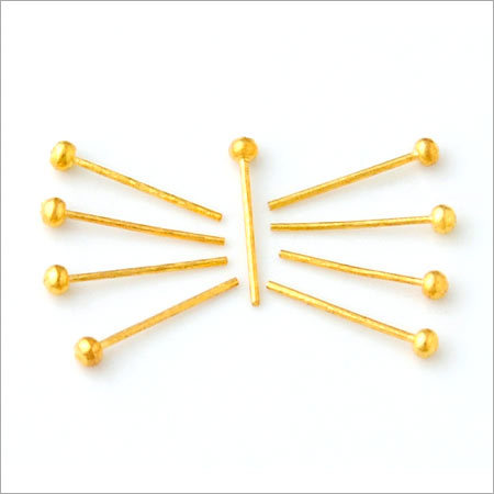 Brass Imitation Ball Pin