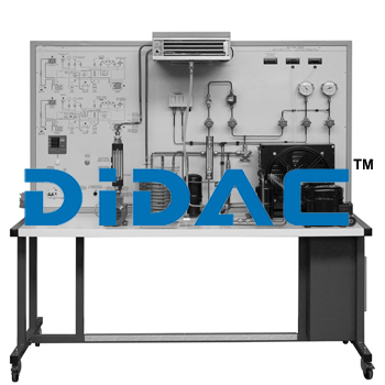 Industrial Air Conditioning Pilot Plant With Heat Pump And SCADA