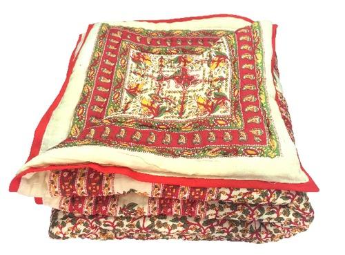 Traditional Desgin Double Bed Jaipuri Razai
