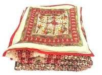 Traditional Desgin Double Bed Jaipuri Razai