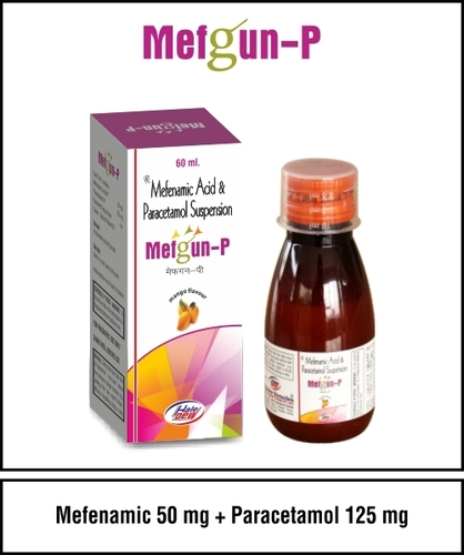 Mefenamic 50 + Paracetamol 125