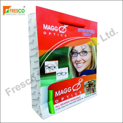 Multi Color Optical Paper Carry Bag