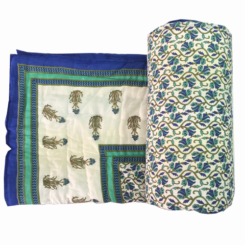 Traditional Printed Double Bed Quilt