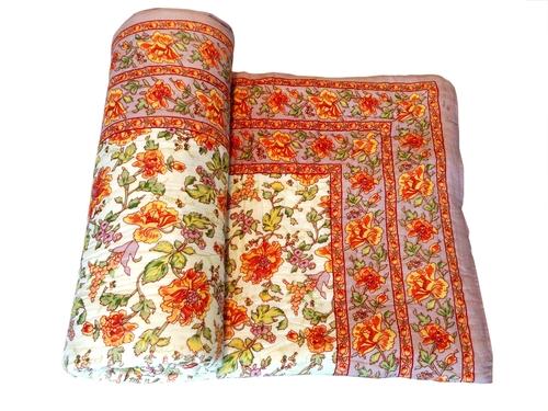 Multi Colour Single Bed Quilt