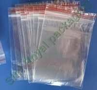 Polypropylene Zip Lock Bags