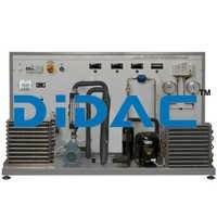 Chiller Units Training Bench with Industrial PLC Controller