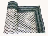 Ethnic Cotton Single Bed Quilt