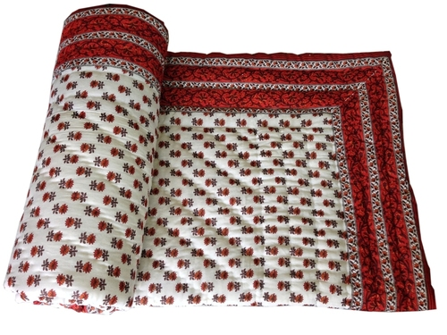 Ethnic Single Bed Quilt