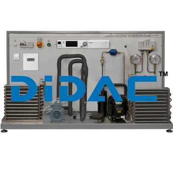 Chiller Units Training Bench With Industrial Controller