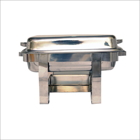 Steel Square chafing dish