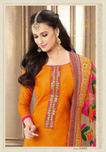 Beige Georgette Pakistani Style Suit