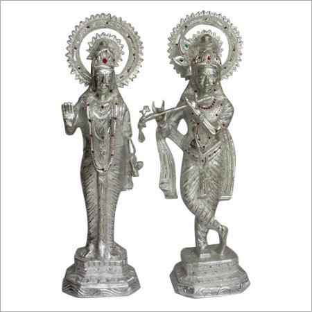 Metal Radha Krishna Separate