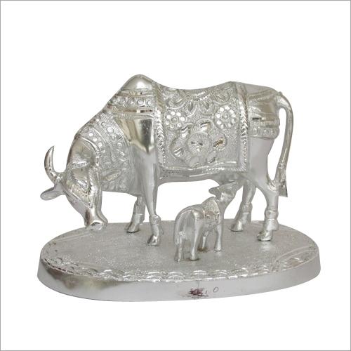 Metal Cow Calf