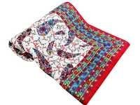 Ethnic Design Single Bed Quilt