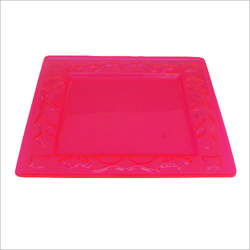 Acrylic Square serving tray