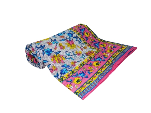 Ethnic Printed New Single Bed Quilt
