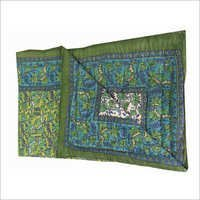 Dark Green Single Bed Quilt