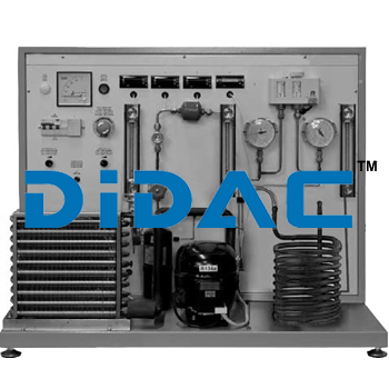 Heat Pump With Dual Mode Evaporator Training Bench