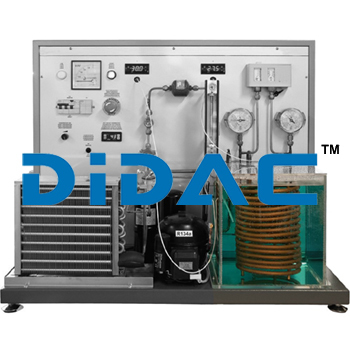 Air to Water Heat Pump Operation Training Bench Unit