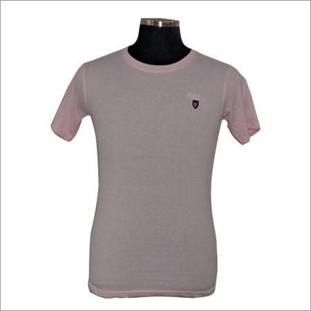 Round Neck Cotton T Shirt