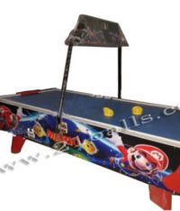 Air Hockey Mario