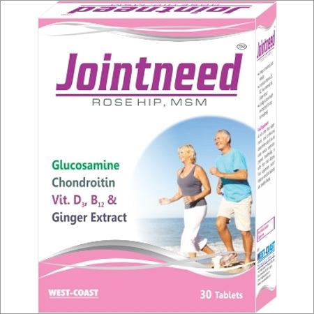 Expert Support From Jointneed Rose Hip Msm With Vit. D3, B12 & Ginger Extract.