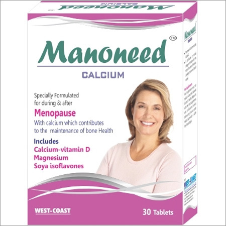 Nutritional Care From Manoneed Calcium With Vit. D & Soya Isoflavones