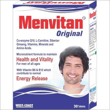 Vitamin & Mineral Supplement For Men